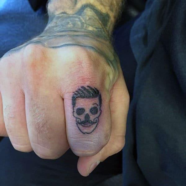75 Finger Tattoos For Men  Manly Design Ideas