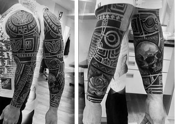 maori tattoo design men