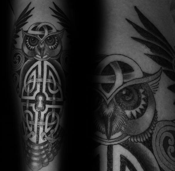 06c734d9ecf96 Celtic knot tattoo forearm