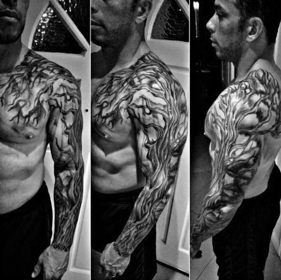Simple Family Tree Tattoo Designs