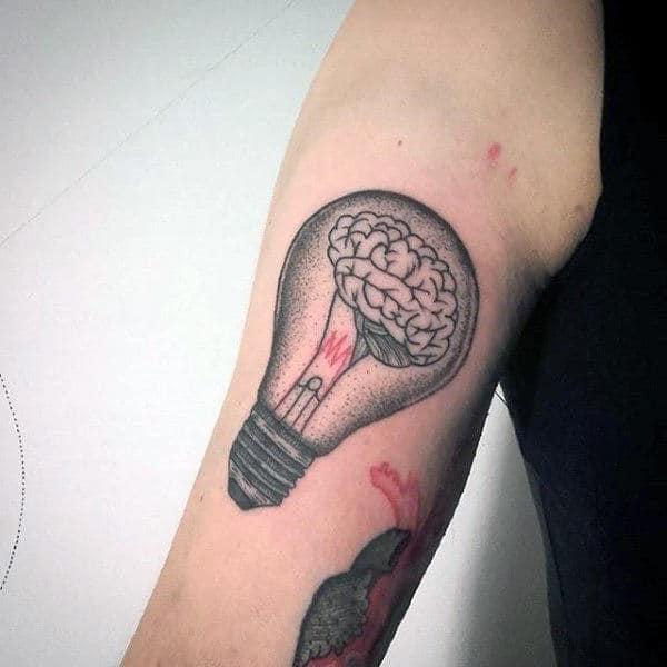 brain diagram inside volvo 240 wiring 1992 60 tattoo designs for men - intelligent ink ideas