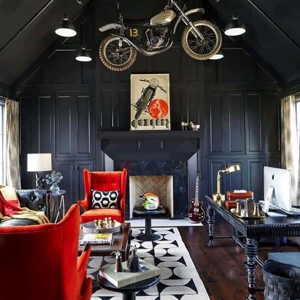 Mens Bachelor Pad Apartment Living Room Ideas