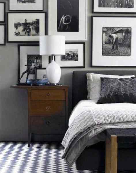masculine bedrooms black bed 60 Men's Bedroom Ideas - Masculine Interior Design Inspiration