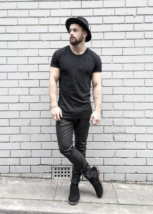 pics Black Style Formal Black Style Shirts For Men 40 all black outfits for men bold