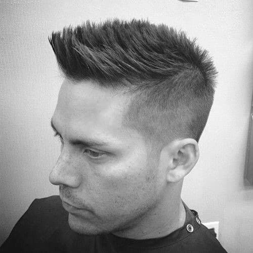 Faux Hawk Hairstyles For Men 40 Fashionable Fohawks