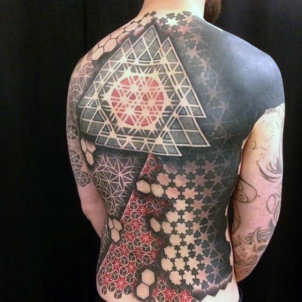 20 Hex Sleeve Tattoos Ideas And Designs