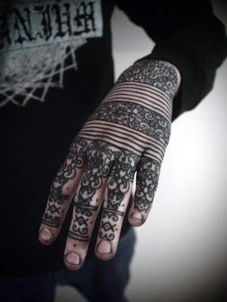 top 100 knuckle tattoos