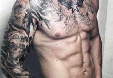 Skull Sleeve Tattoos For Men Men Tattoos Designs Ideas