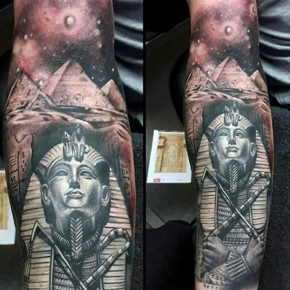 20 Ancient Egyptian Sleeve Tattoos Ideas And Designs