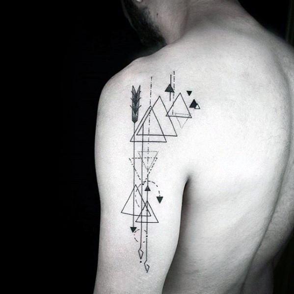simple arm tattoos guys
