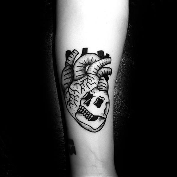 20 Easy Skull Tattoos Forearm Ideas And Designs