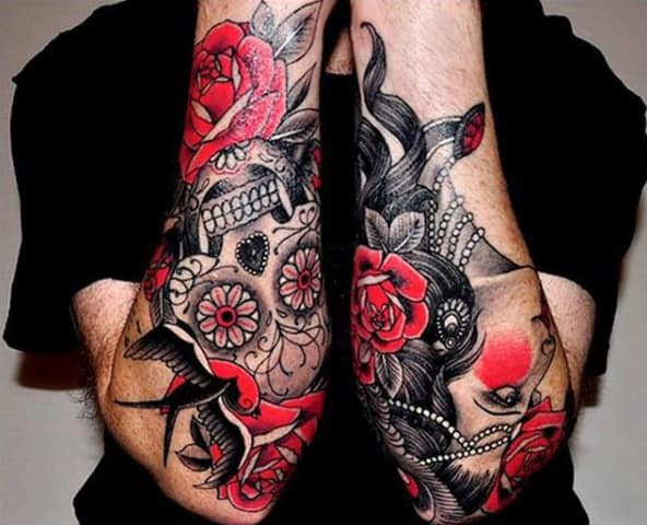 Tattoo Sleeve Ideas For Men Color