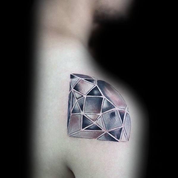 20 Diamond Tattoos Men 3 Ideas And Designs