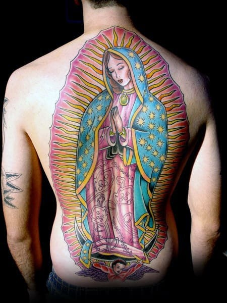 Lady Of Guadalupe Tattoo : guadalupe, tattoo, Guadalupe, Tattoo, Designs, Blessed, Virgin, Ideas