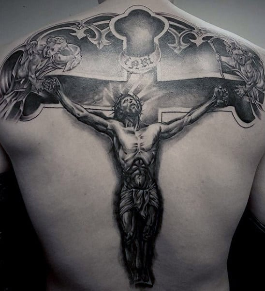 Jesus Crucifixion Tattoo
