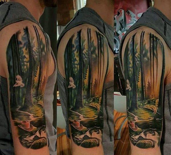 20 Nature Tattoos Half Sleeve Female Ideas And Designs