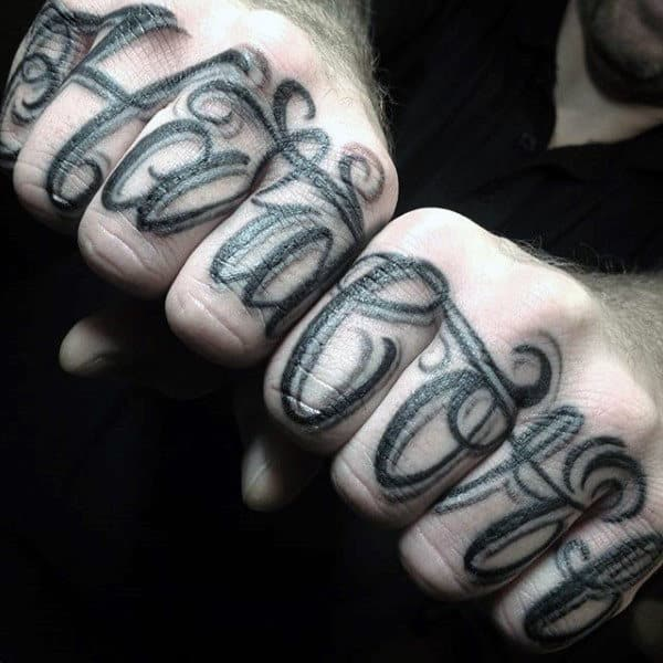 Tattoos For Men On Hand In Words Tattoos Ideas