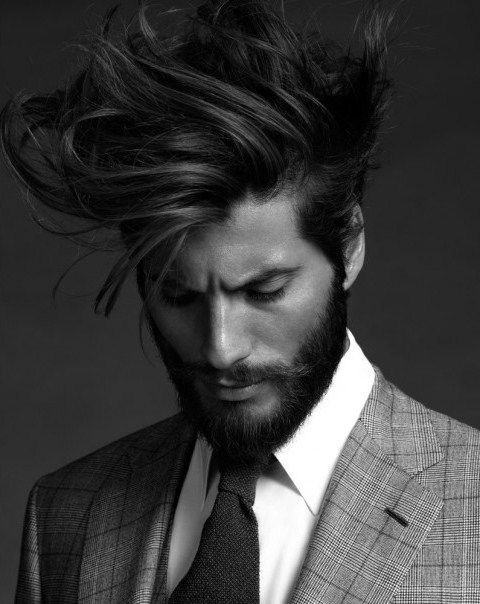 Flow Hairstyle For Men 40 Masculine Hockey Haircuts