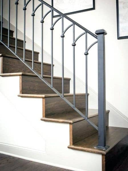 Top 70 Best Stair Railing Ideas Indoor Staircase Designs | Staircase Side Railing Designs | Stair Pattern | Simple | Residential | Italian | Entrance