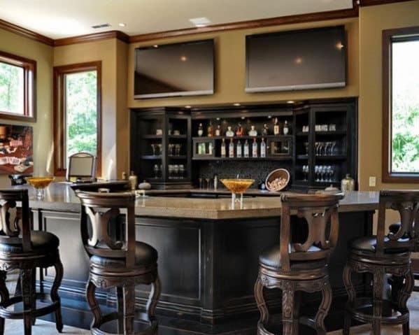 in home bars design