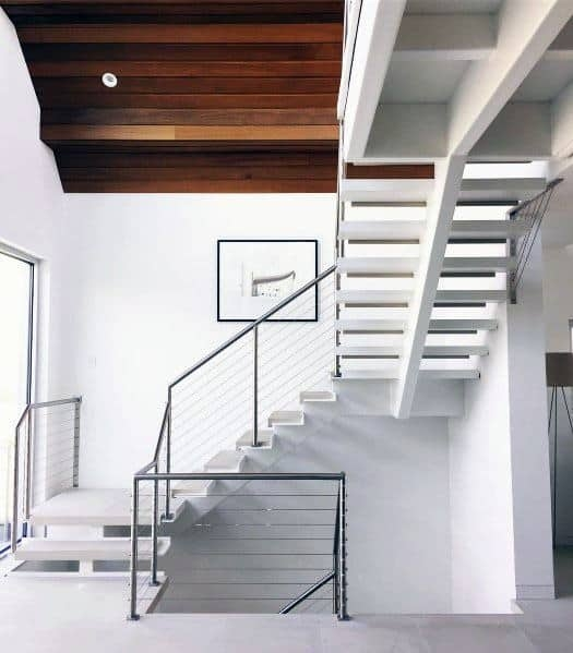 Top 70 Best Stair Railing Ideas Indoor Staircase Designs | Modern Style Stair Railing | Handrail | Art Deco | Rustic Farmhouse | Decorative | Unique Fancy Stair