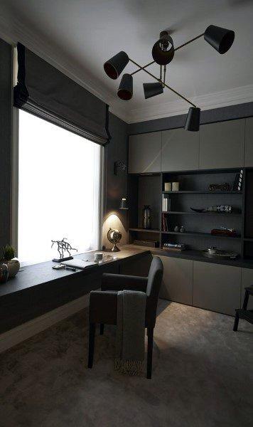 Top 70 Best Modern Home Office Design Ideas - Contemporary ...