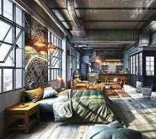 Top 50 Best Industrial Interior Design Ideas   Raw Decor ...