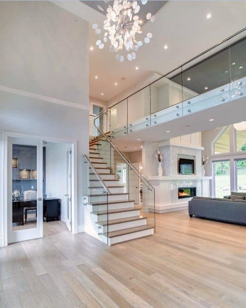 Top 70 Best Staircase Ideas Stairs Interior Designs   Sala Design With Stairs   Indoor Home   Tv Cabinet   Home   Cute   Basement