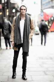 winter outfits men - cold