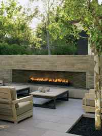 70 Outdoor Fireplace Designs For Men