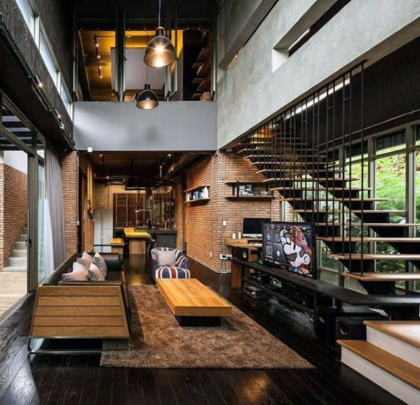 50 Ultimate Bachelor Pad Designs For Men  Luxury Interior