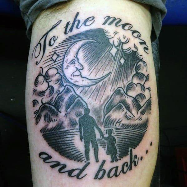 100 Family Tattoos For Men Commemorative Ink Designs