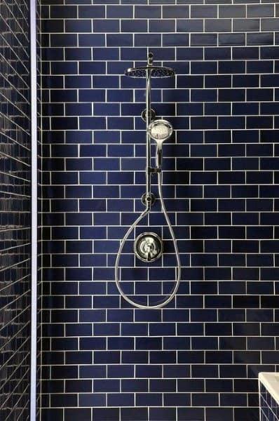 blue shower tile designs