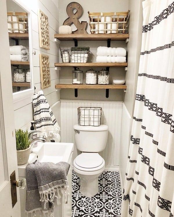 the 70 best farmhouse bathroom ideas