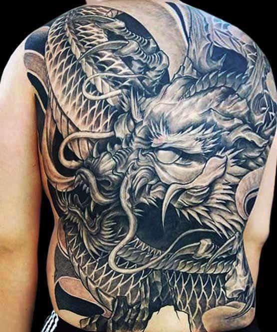 Dragon Tattoo 3d Design