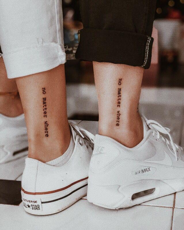 No Matter Where Tattoo : matter, where, tattoo, Friendship, Tattoo, Ideas, [2021, Inspiration]