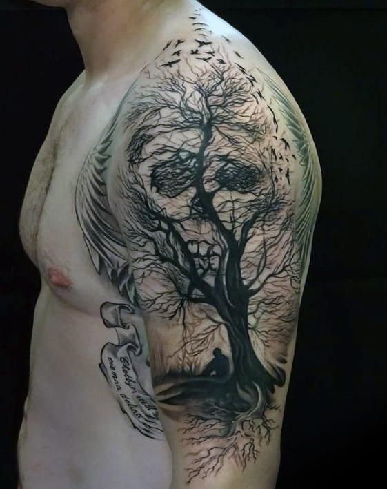 Tattoos About Death : tattoos, about, death, Death, Tattoo, Ideas, [2021, Inspiration, Guide]