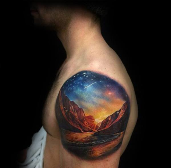 20 Inner Upper Arm Space Tattoos Ideas And Designs