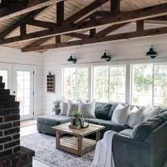 Wood Wall Living Room Designs For Mobile Homes Top 70 Best Ideas Wooden Accent Interiors Painted White Shiplap