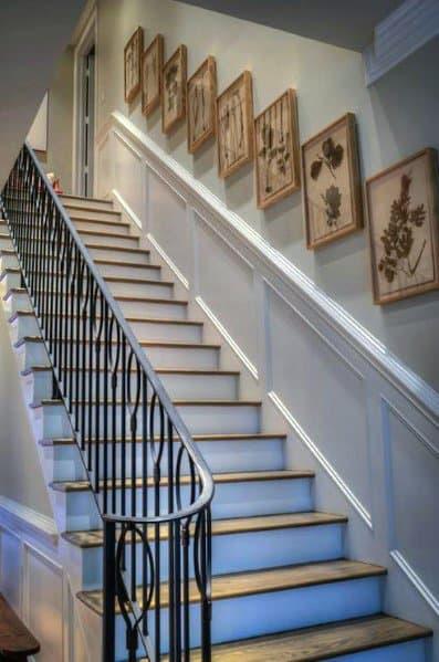 Top 60 Best Stair Trim Ideas
