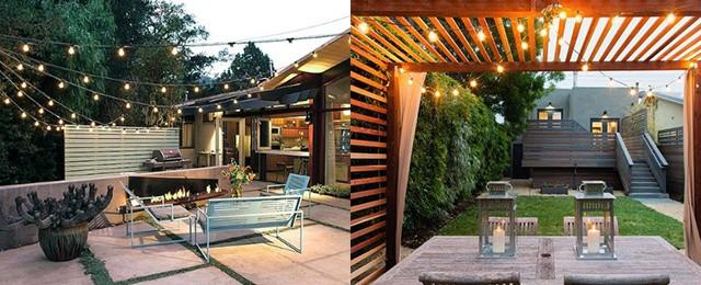 top 40 best patio string light ideas