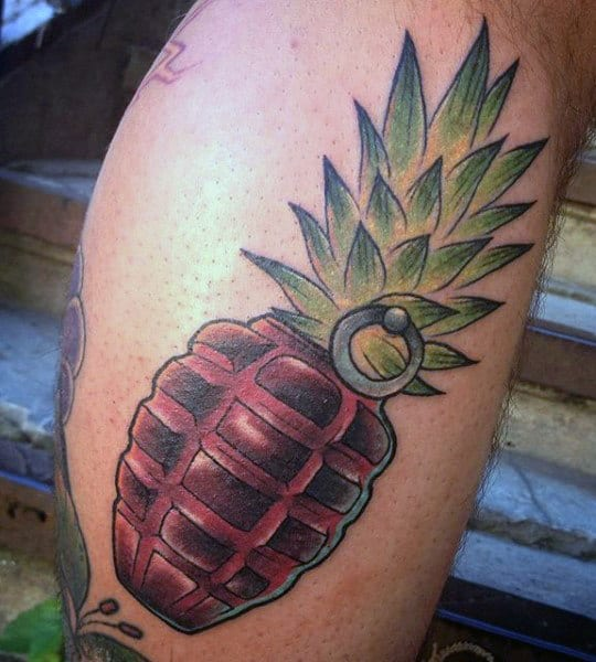 Grenade Tattoo Ideas