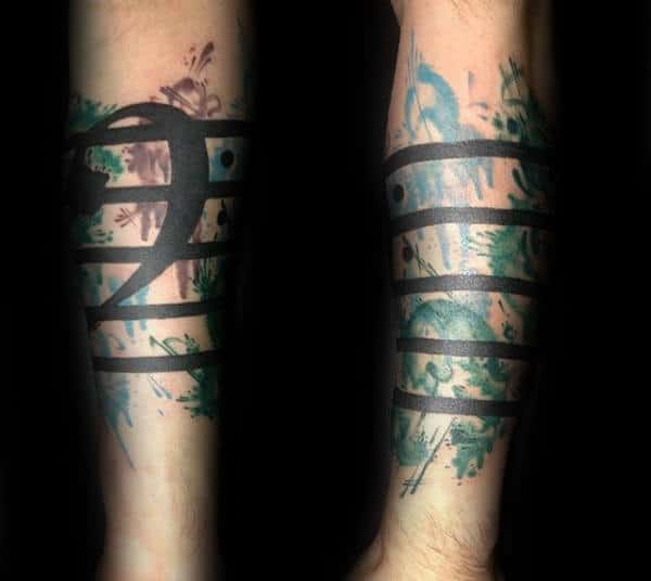 20 Quarter Sleeve Music Tattoos Ideas Ideas And Designs