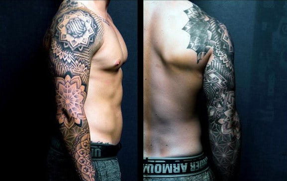 Quarter Sleeve Tattoos For Men