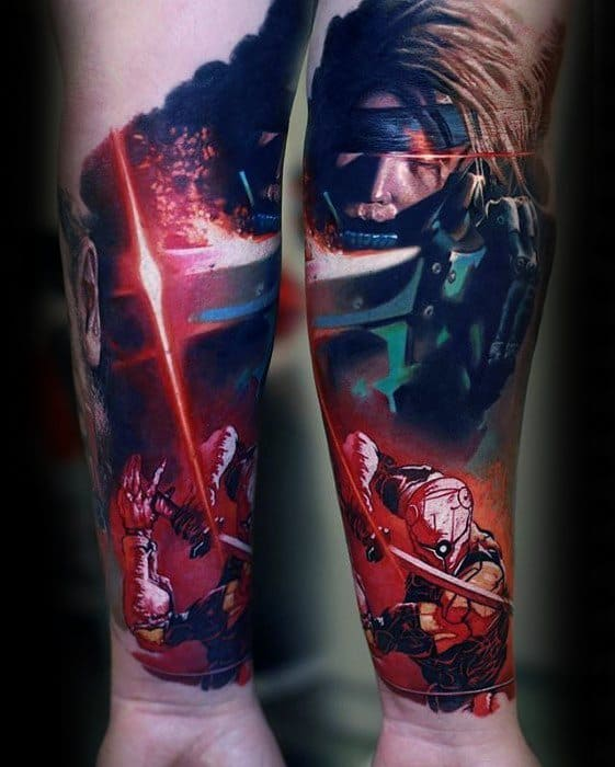 Tattoo Metal Gear Solid Sleeve