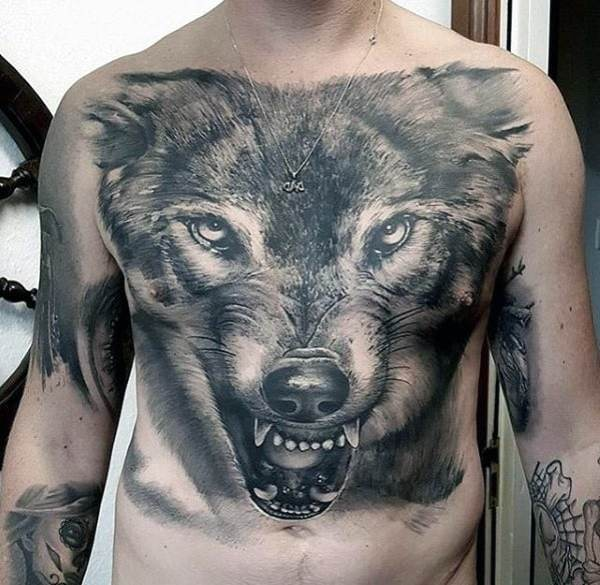 20 Wolf 3d Tattoos Ever Ideas And Designs