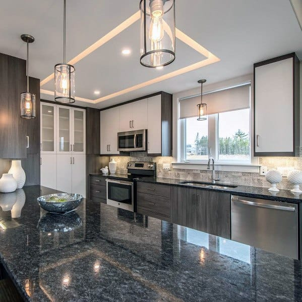kitchen ceilings aid pasta top 75 best ceiling ideas home interior designs recessed led lighting cool design