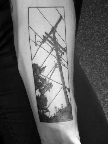 Lineman Tattoos On Arm : lineman, tattoos, Lineman, Tattoos, Electrical, Design, Ideas