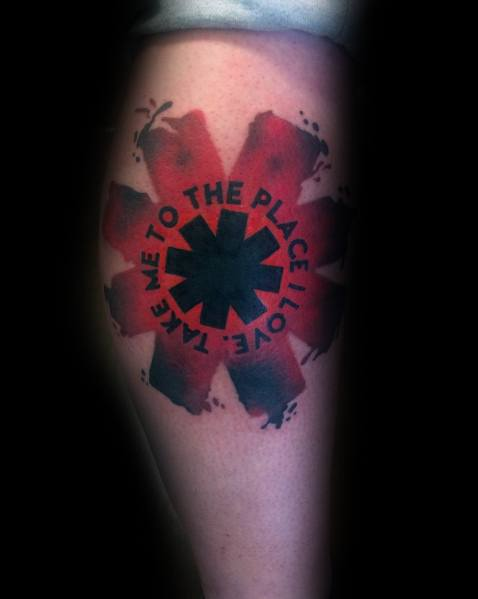 20 Red Hot Chili Peppers Themed Tattoos Ideas And Designs