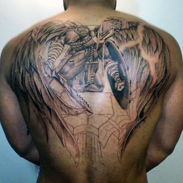 remarkable angel tattoos